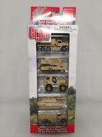 GI Joe Die Cast 2001 Maisto Metal Army Tanks /& Trucks Tan 5 Pack W//Dog Tags