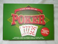 Poker Card Game Gift Set Includes Texas Holdem