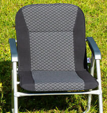 Tapicería referencia para VW t6.1/t6/t5 California silla de camping en quadratic/Titan negro