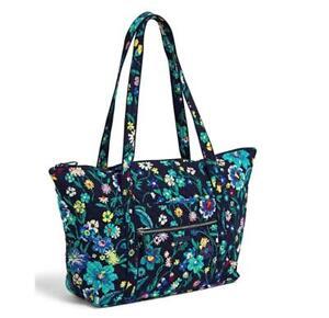 Vera Bradley Moonlight Garden MILLER TRAVEL TOTE BAG Carry-on Trolley Sleeve NWT