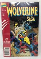 Wolverine Saga Comic Issue 2 Modern Age First Print 1989 Peter Sanderson Jackson
