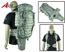 Airsoft Tactical Molle Extended Rifle Gun Gear Bag Shotgun Case Backpack ACU