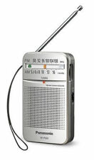 Panasonic RF-P50D AM/FM Pocket Radio - Silver