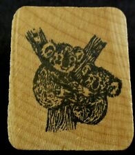 "Koalas in a Tree Mounted Rubber Stamp 1.25"" x 1.5"" 2 Koalas Hugging a Tree"