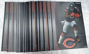 "Brandon Marshall 10 Fathead Chicago Bears NFL 7"" Decal Broncos Saints Giants Jet"