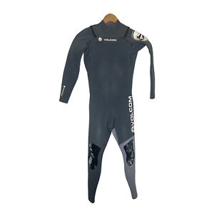 Volcom Childs Full Wetsuit Kids Youth Size 12 Chest Zip 3/2