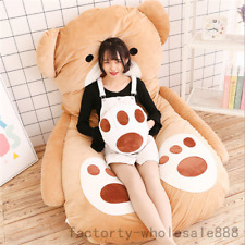 Single Bed Filled Teddy Bear Bed Carpet Large Tatami Mattress Sofa Bean Bag 2018