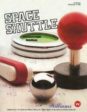 Space Shuttle Game Operations/Service/Repair Manual/Arcade Pinball Machine   PPS