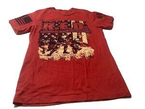 Grunt Style Small- Medium US Flag R.E.D Remember Everyone Deployed T-Shirt