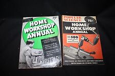 Lot of two Popular Science Home Workshop Annuals 1949 & 1950