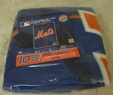 New York Mets Fleece Blanket Throw, Jersey Design, Citi Field SGA Sept. 24, 2016