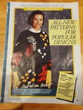 Retro Knitting Australian Women's Weekly Australian Accent  FREEPOST IN AUST