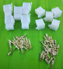 5pairs 9Way 2.8mm Mini Connector Kit For Honda Motorcycle Pin Car Terminal Blade