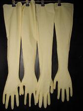 2 Paar, sterile CleanRoom-Handschuhe,Latexhandschuhe,Gummihandschuhe,L/8,5