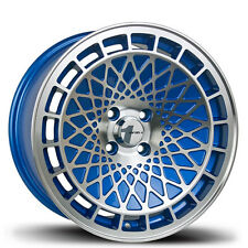 GENUINE Avid1 AV17 16x8 +25 Wheels 4x100 DEEP CONCAVE hellaflush JDM stance