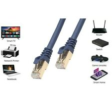 3M - CAT8 Ethernet Cable 40Gbps 2000Mhz Gigabit SFTP Lan Network Internet Cable