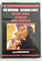 Milano Trema La Polizia Vuole Giustizia DVD Sigillato Luc Merenda Richard Conte