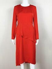 MAJE Dress Red Long-Sleeve Lightweight Gorgeous!! Size '3' - NTSF