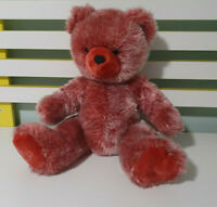 MY BEAR FACTORY TEDDY BEAR PINK BEAR 34CM