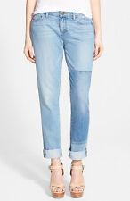 BNWT Women's PAIGE Jimmy Jimmy Skinny Talia Patchwork Denim Jeans Size 30 £195