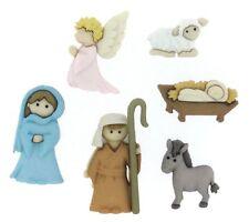 Jesse James Buttons ~ Dress It Up ~ NATIVITY 7473  ~ Christmas Nativity Crafts
