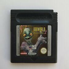 Game Boy Color GBC Spiel Oddworld Adventures 2
