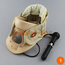 NEW Cervical Vertebra Air Traction Neck Brace Neck Pain Release Therapy Device