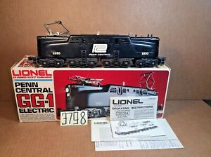 Lionel# 8850 Penn Central GG-1 Electric Diesel 6-8550 !Original box,Instruction