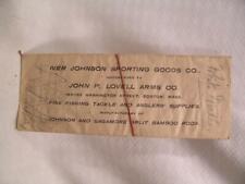 Vintage Lot of Unused White Miller Flies As Purchased In Boston Circa 1900