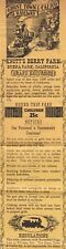 Knott'S Berry Farm Child'S Grand Excursion Pass Ghost Town/Calico Rr-1950's