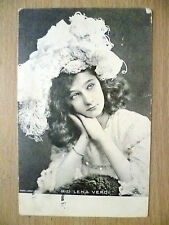 1904 Used Postcard- Theatre Actress MISS LENA VERDI