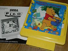 vintage JEU de CONSOLE ordinateur SEGA PICO game
