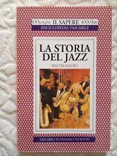 """LIBRO """"LA STORIA DEL JAZZ"""" di Walter Mauro"""