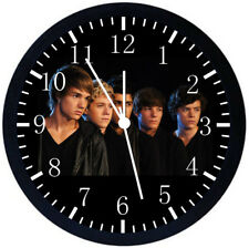 One Direction Black Frame Wall Clock Nice For Decor or Gifts X68