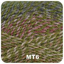 3 X James C Brett Marble DK Knitting Wool Yarn Shade Mt6/dye 3691 240m Each