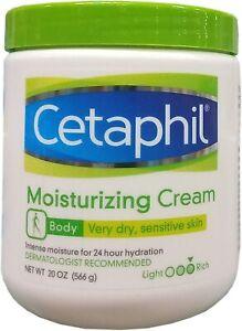 CETAPHIL Moisturizing Cream Completely Restore For Very Dry Sensitive Skin 20 OZ