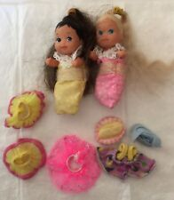Krissy Chrissy Nikki Barbie Size Baby Babies Lot Of Blondes Brown Blinds Clothes