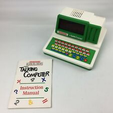 Grandstand First Talking Computer Speak Spell Math Read & Music Educational Toy