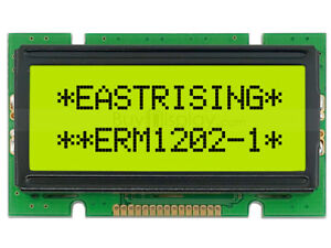5V 12x2 STN LCD Module Character Display w/Tutorial,HD44780 Controller,Backlight
