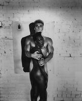 1985 Vintage Matted HELMUT NEWTON Movie GRACE JONES & DOLPH  Photo Art 14x11