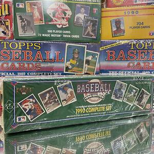 1990 Upper Deck Baseball Cards Complete Set Factory Sealed Box Holograms