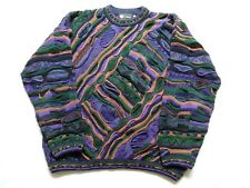 Tundra Canada Crewneck Cosby Multicolored men's Sweater Sz L/G