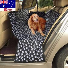 AU Waterproof Car Pet Rear Dog Back Seat Cover Protector Hammock Mat Black New