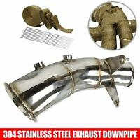 Burstflow Downpipe L suitable for BMW M3 M4 F80 F82 F83 S55 76 mm 317 KW 431 PS