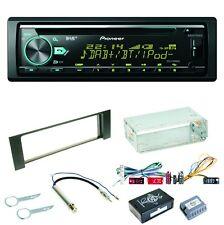 Pioneer DEH-X7800DAB Autoradio USB MP3 DAB+ CD FLAC Einbauset für Audi A4 B6 B7