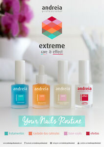 Andreia  Nail Manicure Extreme Care and Effect Collection