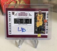 2019 Panini Contenders Draft Picks Basketball Luguentz Dort Rookie Autograph RC