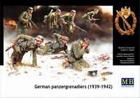 Master Box — German panzergrenadiers — Plastic model kit 1:35 Scale #3518