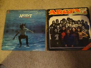 2 X ARGENT LP'S - IN DEEP / ALL TOGETHER NOW - 1 X QUADRAPHONIC