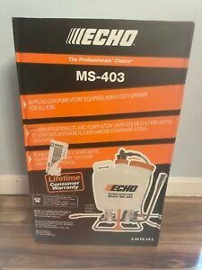 Echo MS403 4 Gallon Internal Piston-Pump Back Pack Sprayer